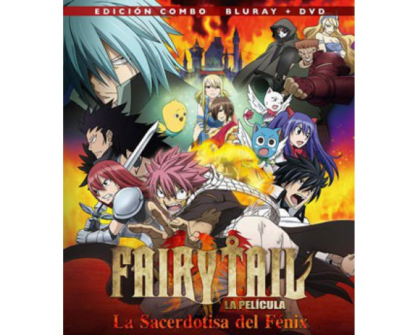 BLURAY FAIRY TAIL: LA SACERDOTISA DEL FÉNIX (COMBO BLURAY + DVD)