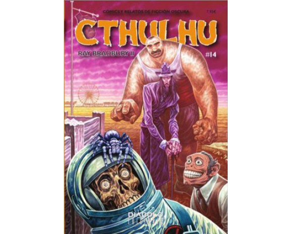 REVISTA CTHULHU 14. RAY BRADBURY II - COMICS Y RELATOS DE FICCION OSCURA