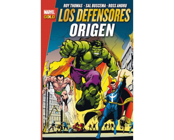 LOS DEFENSORES: ORIGEN (Marvel Gold)