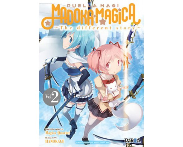 MADOKA MAGICA: THE DIFFERENT STORY 02