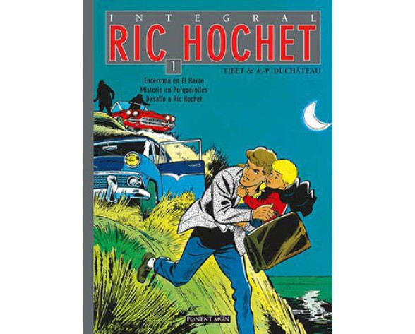 RIC HOCHET Integral vol. 01