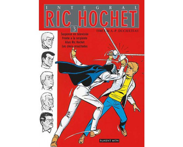 RIC HOCHET Integral vol. 03