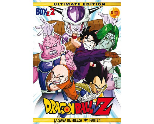 DVD DRAGON BALL Z BOX 02: LA SAGA DE FREEZA PARTE 1