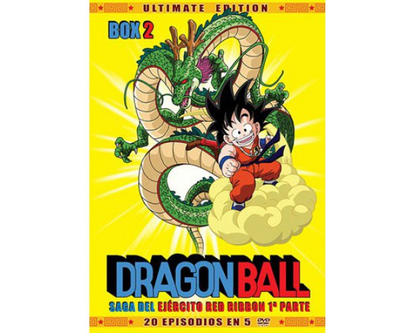 DVD DRAGON BALL BOX 02: SAGA DEL EJÉRCITO RED RIBBON 1ª PARTE