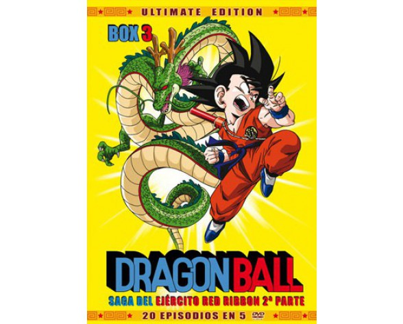 DVD DRAGON BALL BOX 03: SAGA DEL EJÉRCITO RED RIBBON 2ª PARTE