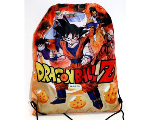 SACO DE CUERDAS DRAGON BALL Z