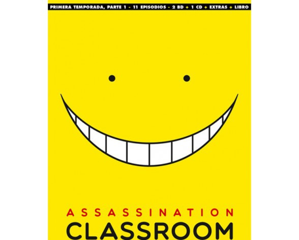 BLURAY ASSASSINATION CLASSROOM: TEMP 1 - PARTE 1 (EP. 1 A 11 - EDICIÓN COLECCIONISTA)
