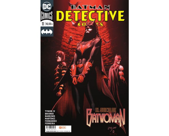 BATMAN: DETECTIVE COMICS 11
