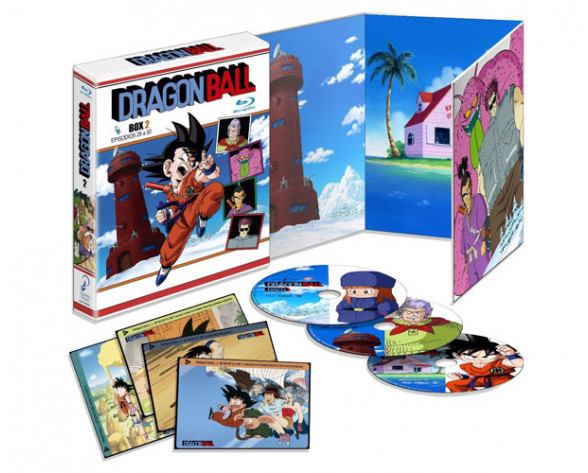 BLURAY DRAGON BALL BOX 2 (EPISODIOS 29 AL 50)