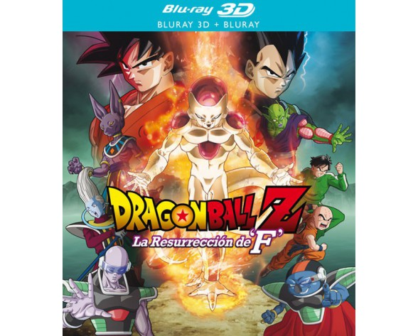 BLURAY DRAGON BALL Z LA RESURRECCIÓN DE F (BLURAY 3D + BLURAY)