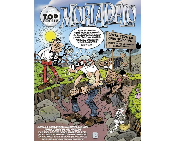 TOP CÓMIC MORTADELO 60: LA RUTA DEL YERBAJO