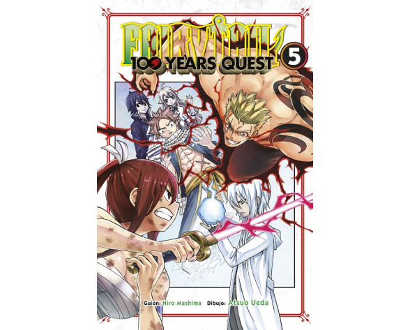 FAIRY TAIL 100 YEARS QUEST Nº05
