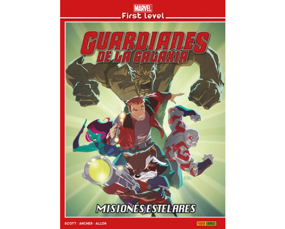 MARVEL FIRST LEVEL 05: GUARDIANES DE LA GALAXIA: MISIONES ESTELARES
