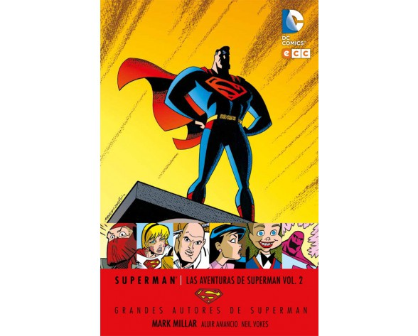 GRANDES AUTORES DE SUPERMAN: MARK MILLAR - LAS AVENTURAS DE SUPERMAN VOL. 02