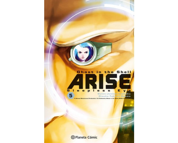 GHOST IN THE SHELL ARISE 05 (de 7)