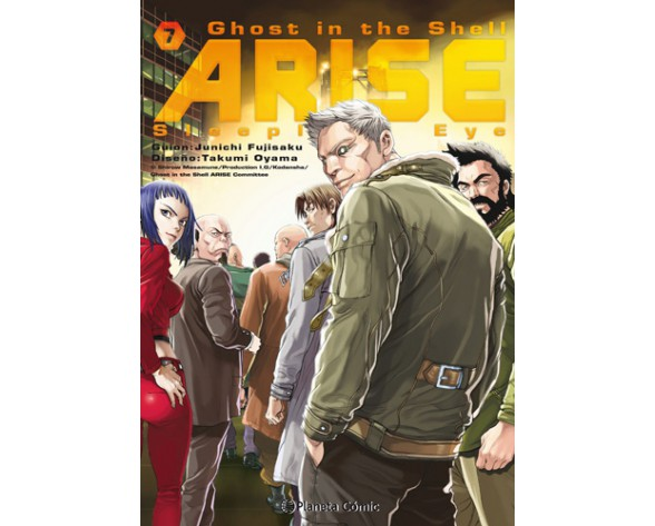 GHOST IN THE SHELL ARISE 07(de 7)