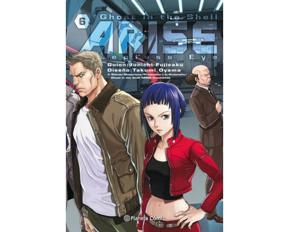 GHOST IN THE SHELL ARISE 06 (de 7)
