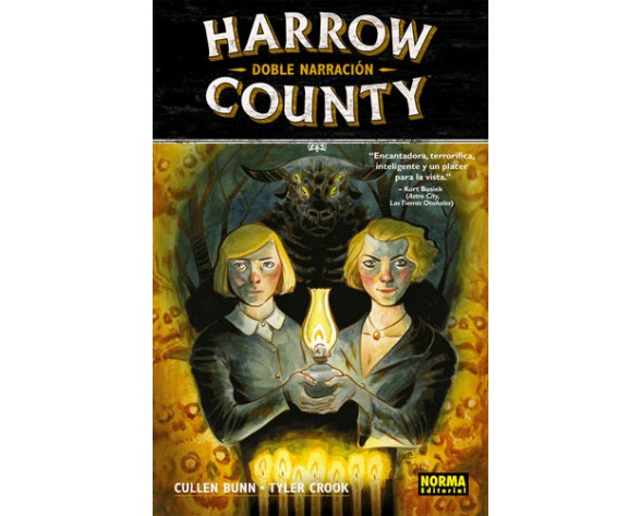 HARROW COUNTY 02: DOBLE NARRACIÓN