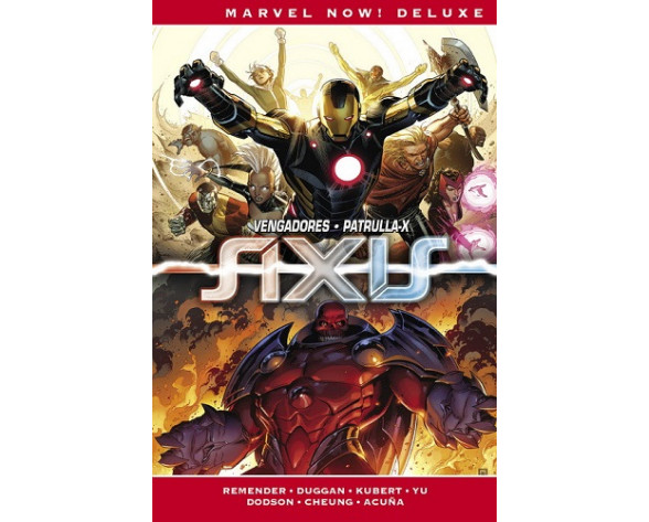 IMPOSIBLES VENGADORES 03: AXIS (Marvel Now! Deluxe)