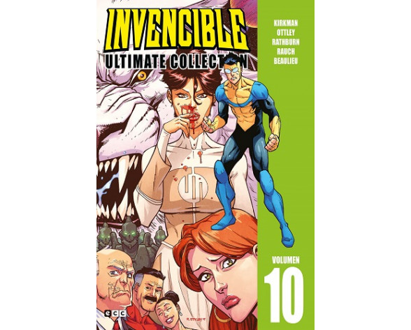 INVENCIBLE ULTIMATE COLLECTION 10