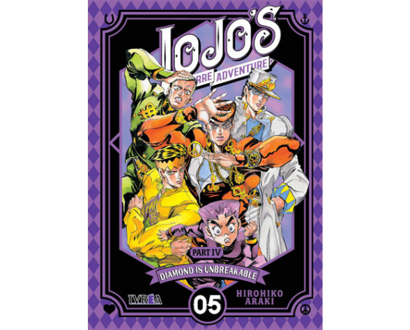 JOJO'S BIZARRE ADVENTURE. PARTE 4: DIAMOND IS UNBREAKABLE 05