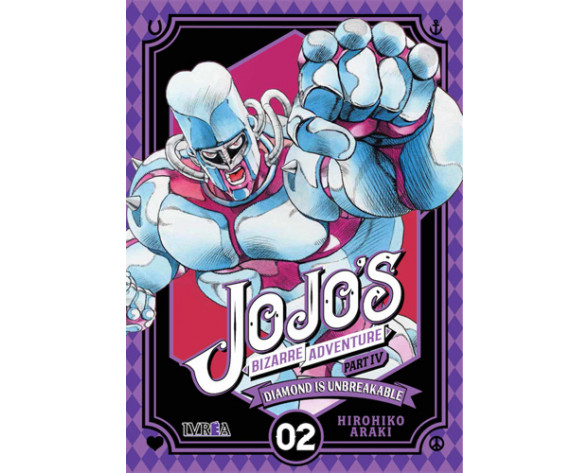 JOJO'S BIZARRE ADVENTURE. PARTE 4: DIAMOND IS UNBREAKABLE 02