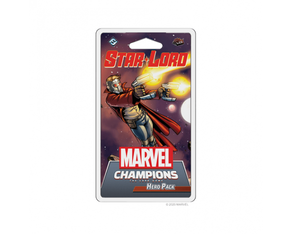 PACK DE HÉROE - MARVEL CHAMPIONS LCG: STAR-LORD
