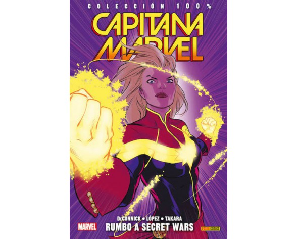CAPITANA MARVEL 04: RUMBO A SECRET WARS