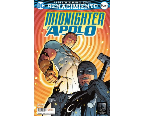 MIDNIGHTER Y APOLO (Renacimiento)