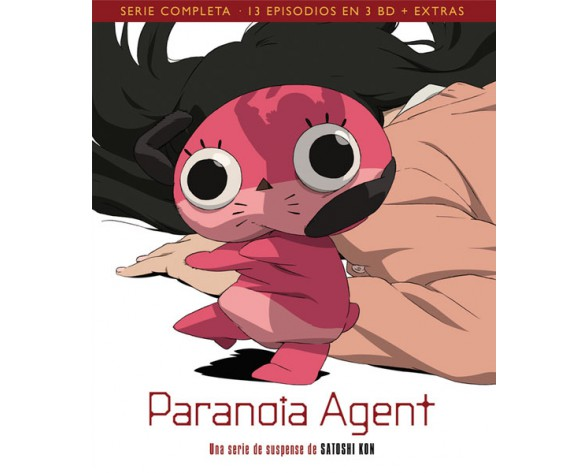 BLURAY PARANOIA AGENT PACK SERIE COMPLETA (13 episodios)