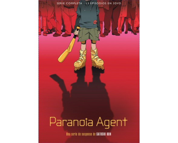 DVD PARANOIA AGENT PACK SERIE COMPLETA (13 episodios)