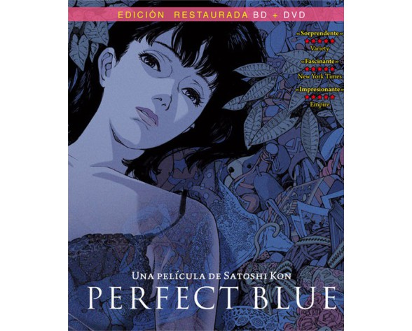 BLURAY PERFECT BLUE (COMBO BLURAY + DVD)