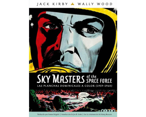 SKY MASTERS OF THE SPACE FORCE: LAS PLANCHAS DOMINICALES A COLOR (1959 - 1960)