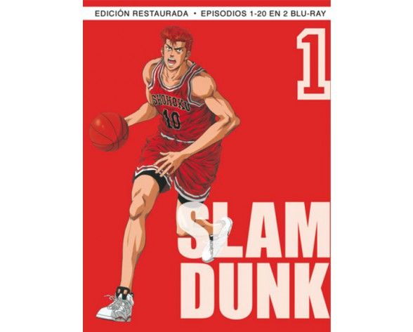 BLURAY SLAM DUNK BOX 1 (Ep. 1-20)