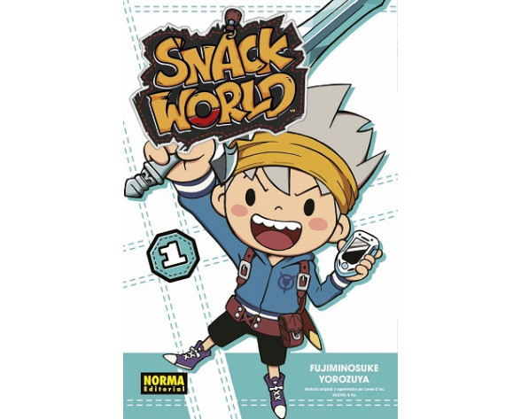 SNACK WORLD 01