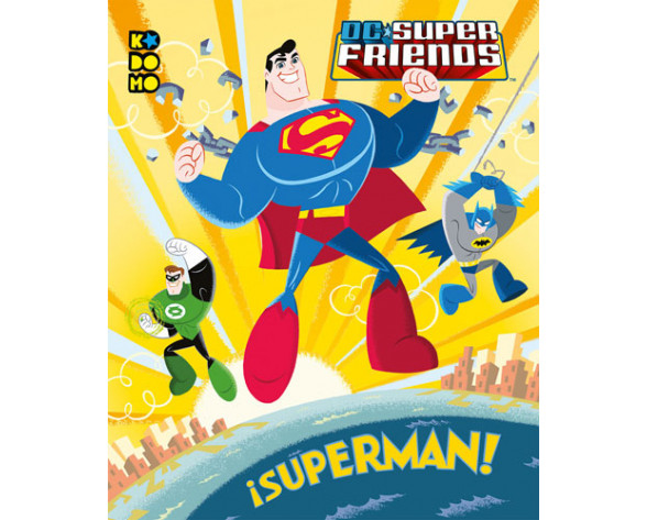 DC SUPER FRIENDS: ¡SUPERMAN! (Kodomo)