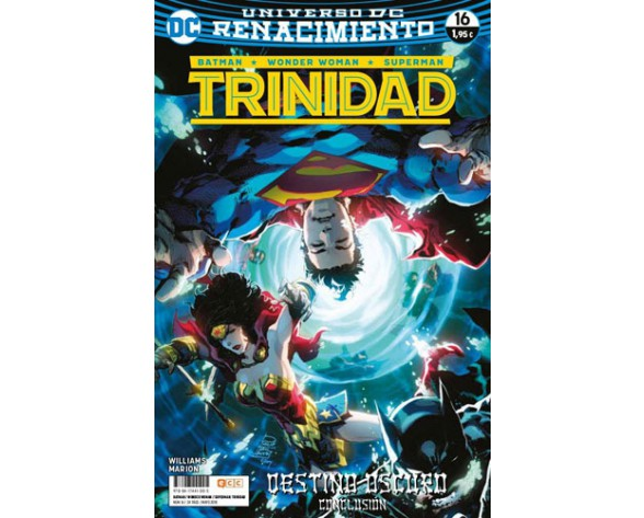 BATMAN/SUPERMAN/WONDER WOMAN: TRINIDAD 16 (Renacimiento)