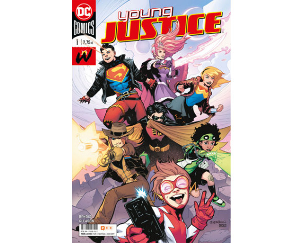 YOUNG JUSTICE 01
