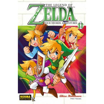 THE LEGEND OF ZELDA 08: FOUR SWORDS ADVENTURES vol. 1