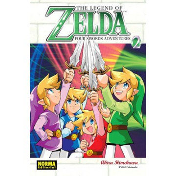 THE LEGEND OF ZELDA 09: FOUR SWORDS ADVENTURES vol. 2