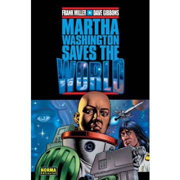 MARTHA WASHINGTON SAVES THE WORLD