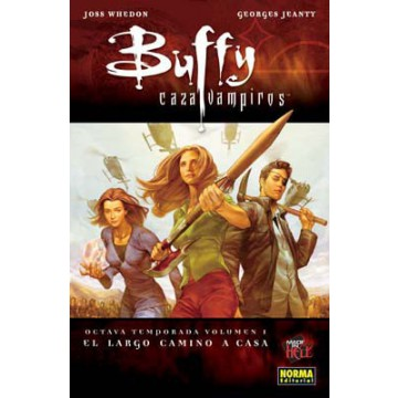 BUFFY CAZAVAMPIROS 8ª TEMPORADA. VOL. 1. EL LARGO CAMINO A CASA