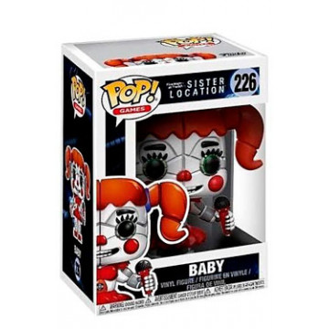 FIGURA BABY (SISTER LOCATION) (FIVE NIGHTS AT FREDDY´S) - FUNKO POP (226)