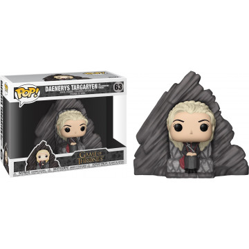 FIGURA DAENERYS TARGARYEN EN DRAGONSTONE THRONE (GAME OF THRONES) - FUNKO POP