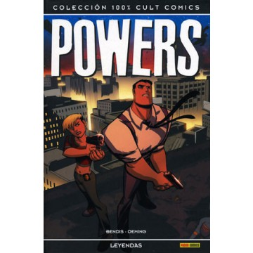 POWERS: LEYENDAS