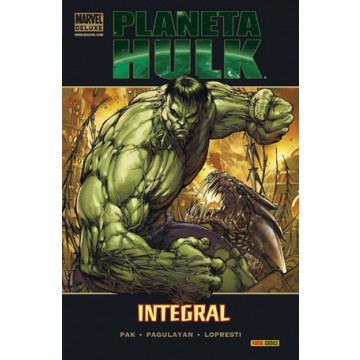 PLANETA HULK INTEGRAL (Marvel Deluxe)