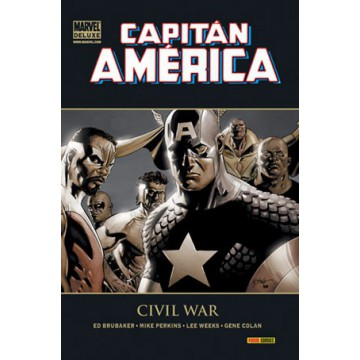 CAPITÁN AMÉRICA 04: CIVIL WAR (Marvel Deluxe)