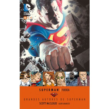 GRANDES AUTORES DE SUPERMAN: SCOTT MCCLOUD - FUERZA