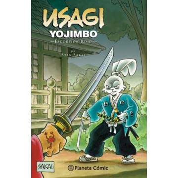 USAGI YOJIMBO 28: ESCORPIÓN ROJO