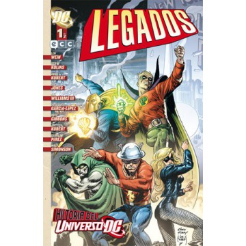 UNIVERSO DC: LEGADOS 01 (de 2 )